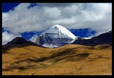 Visit the center of the world: Mt Kailash in 2014 http://www.absolutechinatours.com/Tibet-attractions/mt-kailash-trekking-3459.html