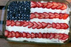 My Favorite 4th of July Cake Recipe