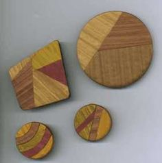 Bob Wiley uses a simple mica shift technique as the basis of his Faux Wood Inlay from pcPolyzine June 2001.