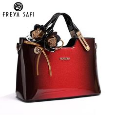 FREYA SAFI Luxury Designer Leather Tote Handbags ea5cf9003d096