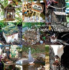 66-page booklet that captures the magical event that was the 2009, Lyme Art Colony's Wee Faerie Village.