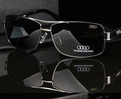f9074dee39f47 nice AD553 Authentic luxury brand Audi Men Polarized Sunglasses oculos de  sol masculino Driving Fishing Sun glasses
