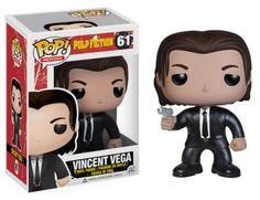 Funko POP! Movies Pulp Fiction Vincent Vega 61 John Travolta Vinyl Figure