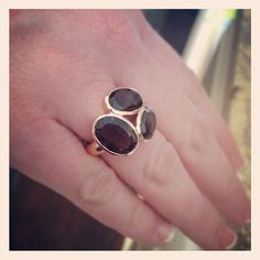 Rose gold Trilogy Ring by Stella & Dot