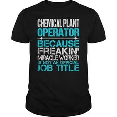 Awesome Tee For Chemical Plant Operator T Shirts, Hoodie