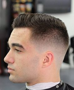 Taper fade .... Nice! Men's haircuts fly