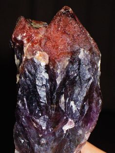 Only One!!! AURALITE 23 The Violet Flame - (Strawberry Red Tip) - Love, Psychic, Astral Travel, Akashic Records, Psychicism, Third Eye Sight
