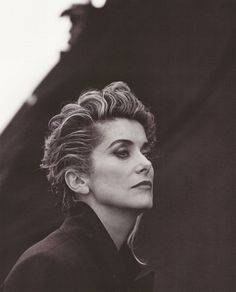 Catherine Deneuve for French Vogue by Peter Lindbergh (1991) courtesy of Louis Vuitton
