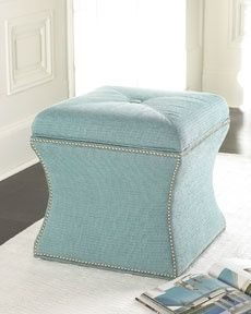 Master closet vanity stool