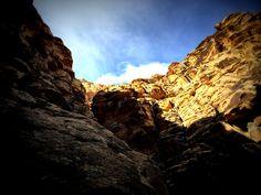 Beautiful Red Rock Canyon NV.  Icebox Canyon