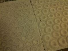Sand casted plaster mold Plaster Molds, Sand Casting, Tile Floor, It Cast, Flooring, Ceramics, Home Decor, Ceramica, Pottery