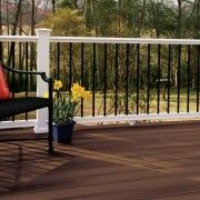 Fiberon Composite Deck With A Curve In Ottawa Built By