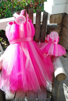 Matching Child and American Doll Tutu Dress  Size by TutusByCheri, $50.00
