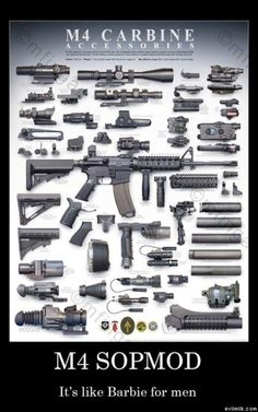 M4, Like barbies, but for men haha