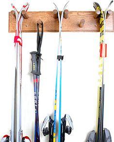 Storage Rack for ski gear