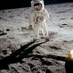 """Buzz Aldrin and all Apollo 11 crew for being brave enough to """"leave the box"""""""