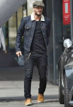 david beckham denim trucker jacket for men http://shedonteversleep.tumblr.com/post/157434990288/short-black-hairstyles-for-round-faces-short