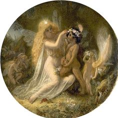 "Joseph Noel Paton (1821-1901), ""Titania and the Indian Boy"" (from A Midsummer Night's Dream) 