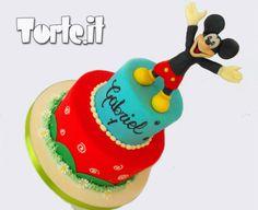 Torta Topolino - Torta decorata per compleanno. Torta per bambini.