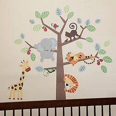 Buy Buy Baby - Lambs & Ivy Treetop Buddies Wall Decals.