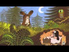 Krtek a zajíček Mind Tricks, Moose Art, Animation, Entertaining, Youtube, Mole, My Love, Illustration, Audio