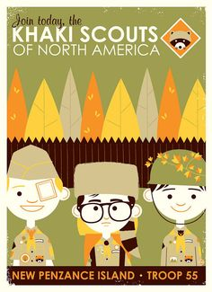 Moonrise Kingdom by Dave Perillo