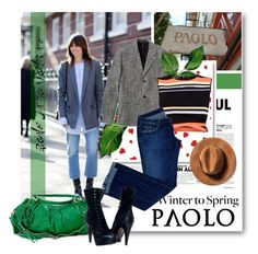 """#wintertospring Paoloshoes.com"" by paoloshoes ❤ liked on Polyvore featuring Paolo Shoes, Ted Baker and Dsquared2"