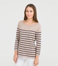 womens breton stripe top