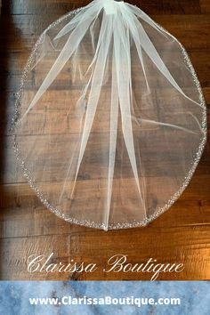 Veils ,Veils, Veils....nothing says bride better than a veil. Magnificent sparkle adorns this fingertip edged veil with scattered crystals, beads, and rhinestones...#clarissaboutiquepittsburgh #weddingveils #clarissaboutique #pittsburgh #bridalboutique #weddinginspire #burghbrides #bride #bridetobe #bridalwear #bridalfashion #bridalstyle #wedding #weddings #bohowedding #weddinginspiration #cathedralveils #weddingaccessories #veils #bridalveils