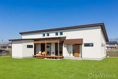 ブログをご覧いただきありがとうございます。 納得スタイルホーム 武元です。 最近人気が上がってきている、平屋住宅。 静岡県納得住宅工房の最新施工例が届きましたのでご紹介します。 スローライフを感じさせるおしゃれな平屋住宅です。 Japanese Modern House, Humble House, Small Cottage Homes, Rental Property, Ideal Home, Interior, Outdoor Decor, Design, Home Decor