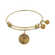 Antique Smooth Finish Brass Sun, Moon, Stars Angelica Bangle Bracelet * More info could be found at the image url. (This is an affiliate link) #ILoveJewelry