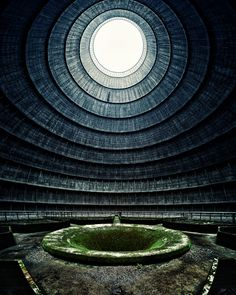 Abandoned Nuclear Cooling Tower