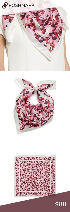 Spotted while shopping on Poshmark: ♠️Kate Spade♠️ Scenic Floral Square Silk Scarf! #poshmark #fashion #shopping #style #kate spade #Accessories Kate Spade Party, Kate Spade Pink, Bow Scarf, Plus Fashion, Fashion Tips, Fashion Design, Fashion Trends, Halter Mini Dress, Scarves