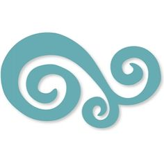 Silhouette Design Store - View Design #11511: swirl flourish