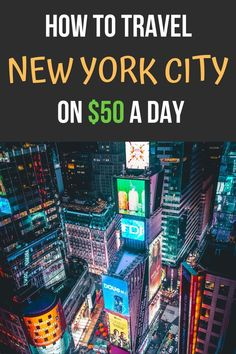 This is travel guide that shows you how to travel NYC on $50 a day or less. Its a budget friendly travel guide that shows you how to see NYC on a budget. Its filled with lots of free things to do and cheap things to see and experience in NYC. See the list here.