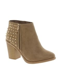 Extreme 2 Studded Back Ankle Boots by New Look