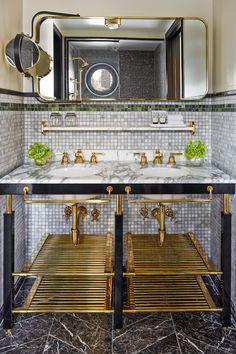 Exterior - Picture of Le Meridien New York, Central Park, New York City - Tripadvisor Interior Stylist, Interior Design, Wooden Bathroom, Bathroom Basin, Paris Apartments, Bathroom Inspiration, Bathroom Ideas, Bath Ideas, Beautiful Bathrooms