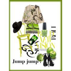 Jump jump !,  jumpsuit, created by kathy-martenson-sanko.polyvore.com