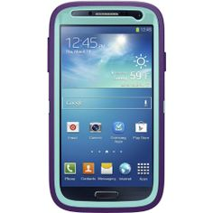 Amazon.com: NEW OEM OtterBox Defender Case Samsung Galaxy S4 IV Lily Aqua Blue Violet Purple 77-27772: Cell Phones & Accessories