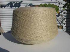 Machine Knitting Yarn Sand Acrylic Cone Yarn by stephaniesyarn, $10.00