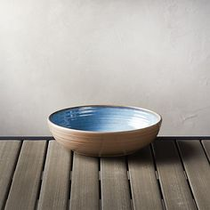 "Caprice Blue 8"" Melamine Bowl 