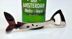 Bottel-Oopmaker. Welmarie Momberg 2014 Stainless Steel Cutlery, Lager Beer, Flatware, Bottle Opener, Design, Heineken, Cutlery Set, Dishes