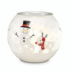PartyLite Candles, Candle Holders, Home Party, Direct Selling Christmas 2015, Holiday, Partylite, Tea Light Holder, Snow Days, Decoration, Gifts For Friends, Tea Lights, Snow Globes