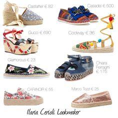 espadrillas by ilaria-lookmaker on Polyvore featuring moda, Chiara Ferragni, Castañer, Gucci and Marco Tozzi