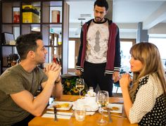 Coronation Street: Samia Ghadie on Maria's gay husband Pablo - and why she's had to dress as a lion!