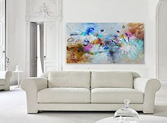 Original abstract painting, Extra Large wall art canvas, Modern Abstract Art, Acrylic Painting on Canvas, Original artwork, 100% Hand Made Living Room Decoration -- Want additional info? Click on the image.