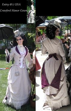 Bustledress.com, article Category: 2010 Best Victorian DAY Gown, Victorian Dress- Bustle Dress, Victorian Costume, Vintage Clothing, Vintage Clothes