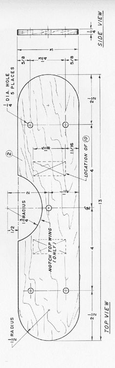 Toy Airplane Free Project Plan from - http://www.woodworkit.com