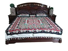 Boho Bedspread- Indian Bedding Mandala Cotton Bedcover 3p set Mogul Interior http://www.amazon.com/dp/B010VCYQ6A/ref=cm_sw_r_pi_dp_Bje5vb0FARQ61