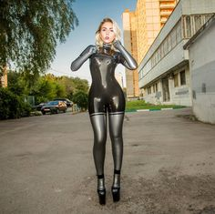 katerina_piglet (K A T E R I N A): Latex by RuBear.Ru  #latexmodel #latexfashion…